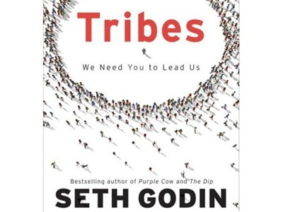 """Cover of a book called """"Tribes"""" by Seth Godin"""