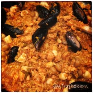 Life After Corn Paella